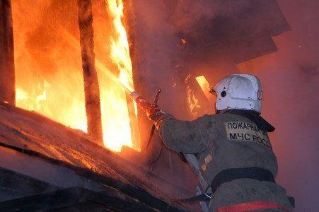 В Симферополе на пожаре пострадал 71-летний пенсионер