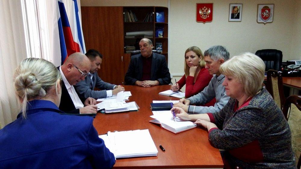 Игорь Вайль провёл совещание по вопросам реализации Госкомводхозом мероприятий обеспечения безопасности гидротехнических сооружений