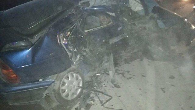 ДТП на объездной: в Симферополе столкнулись два авто