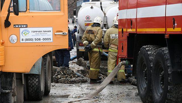 Авария на водоводе в Симферополе: подробности происшествия