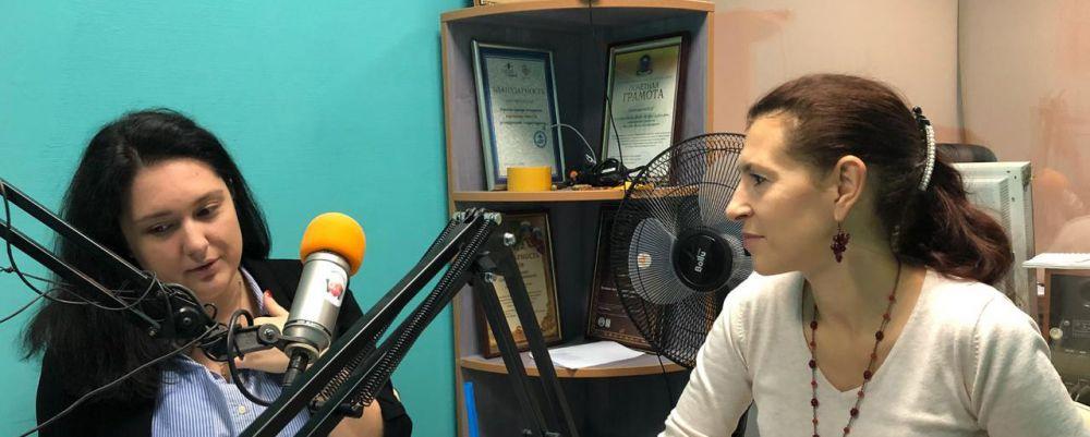 В Ялте состоялся первый выпуск нового радио-шоу «О чем говорят женщины»
