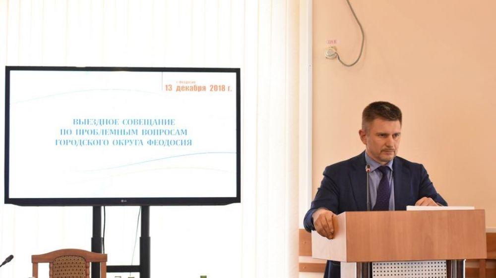 Администрация Феодосии подала заявку на выделение средств на ремонт дорожного покрытия 11 улиц в следующем году – Сергей Карпов