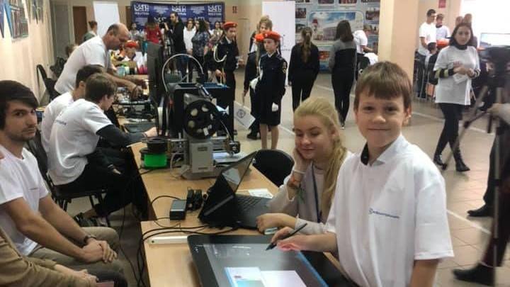 В Крыму открылся первый детский технопарк «Кванториум»