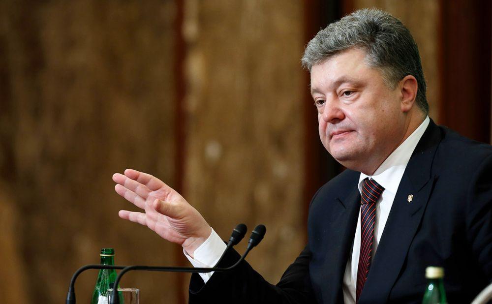 Порошенко объявил оначале «войны» сРоссией