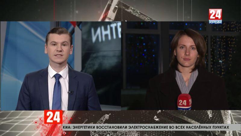 Итоги дня выборов главы администрации Симферополя: прямое включение корреспондента телеканала «Крым 24» Елены Носковой