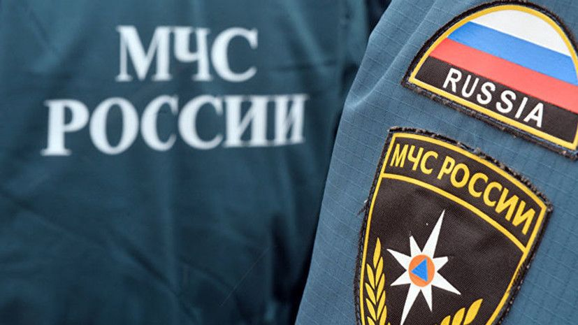 Опубликовано видео падения самосвала на аквапарк в Крыму