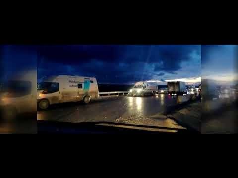 В случае сложных ДТП на «Тавриде» насыпают аварийный объезд