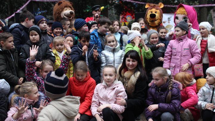 Праздник «Николина каша» традиционно открыл череду новогодних мероприятий в Ялте