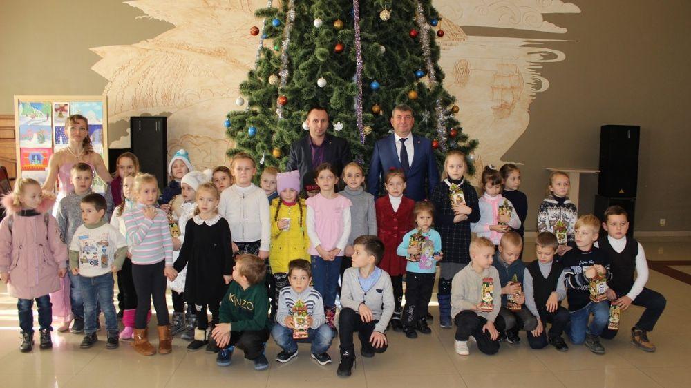 В Гурзуфе стартовала череда новогодних мероприятий