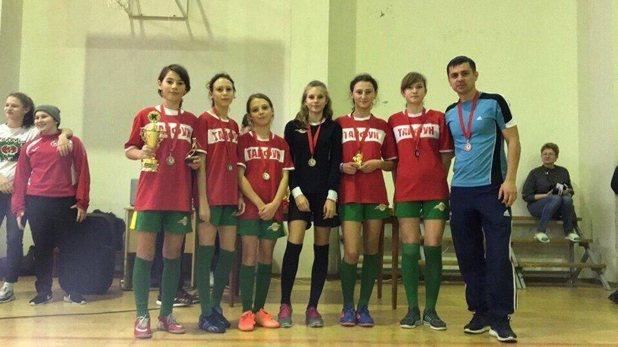 Женская футбольная команда из Крыма завоевала «бронзу» на Всероссийском турнире