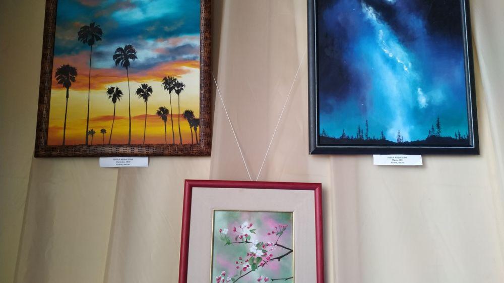Международная выставка картин «Краски души» открылась в замке «Ласточкино гнездо»