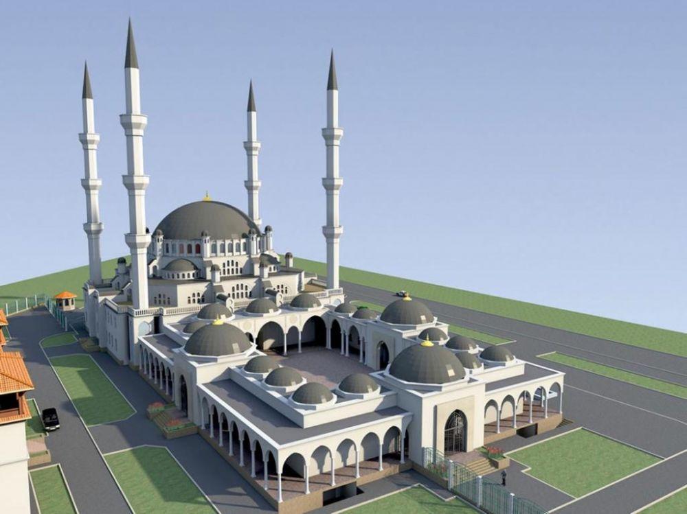 Открытие Соборной мечети перенесено с апреля на август