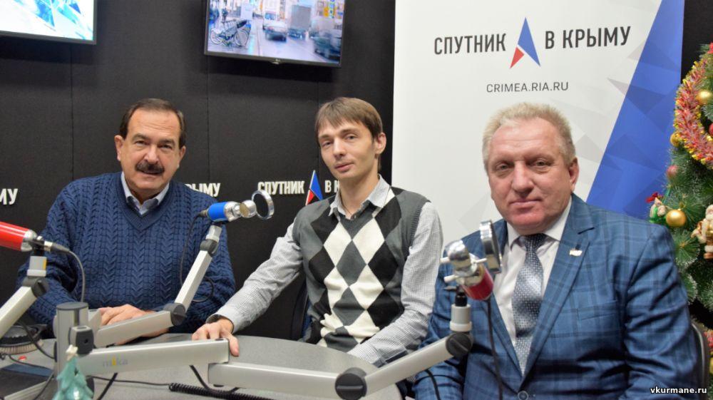 Интервью главы района и главы поселения на радио «Спутник в Крыму»