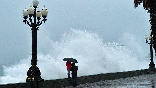 Дождь со снегом и сильный ветер: Какой будет погода в Крыму в пятницу
