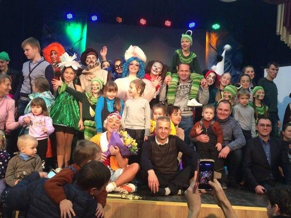 В Севастополе прошел благотворительный концерт для особых детей
