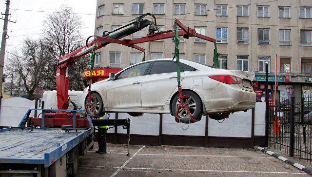 Эвакуация и хранение задержанных авто в Крыму: тарифы на 2019 год