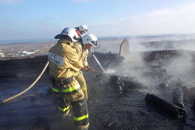 Названа причина взрыва газовых баллонов на крыше дома в Крыму