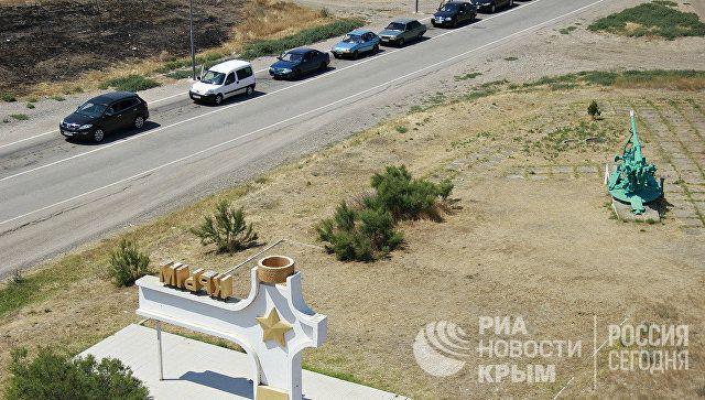 В Крыму рассказали, сколько человек пересекли границу с Украиной в праздники