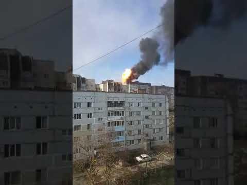 На крыше девятиэтажки в Крыму взорвались газовые баллоны