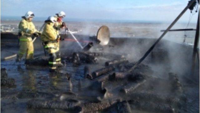 На крыше многоэтажки в Крыму взорвались газовые баллоны