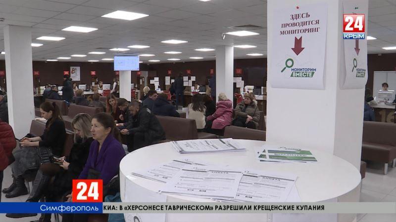 В Крыму стартовала акция «Мониторим вместе»: волонтёры предлагают заполнить анкеты о качестве работы государственных учреждений