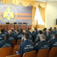Сотрудники МЧС России провели учебно-методический сбор