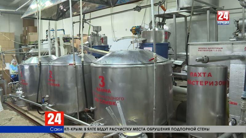 Производственные планы: в Крыму на 12 % выросли объёмы производства своих продуктов