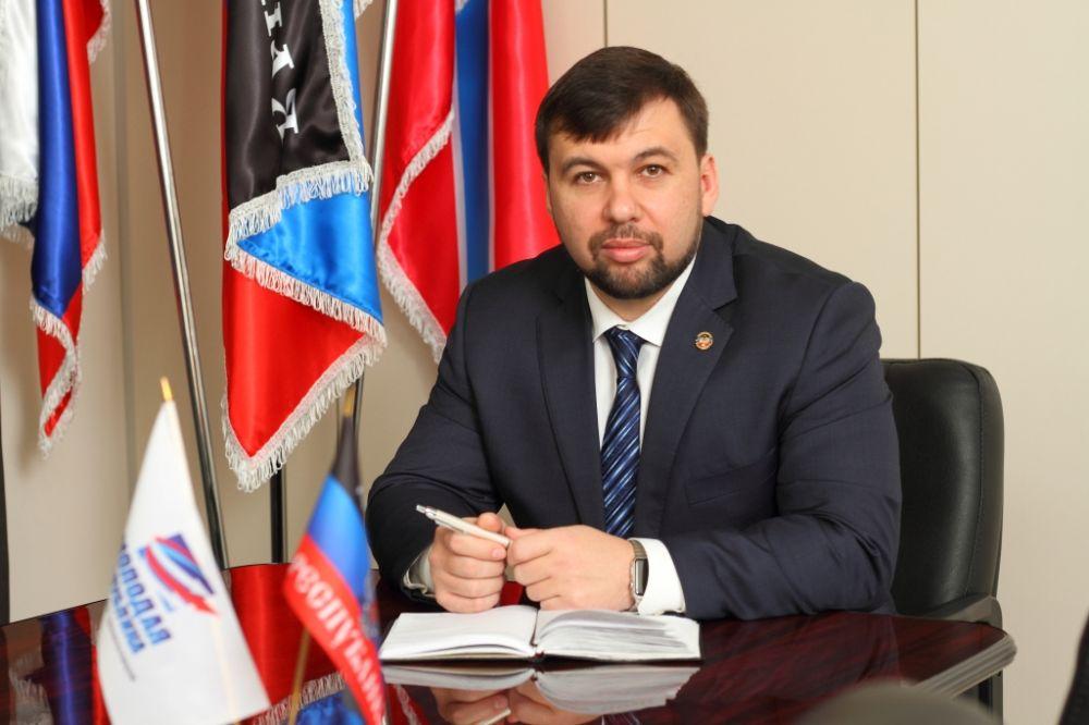 Пушилин поздравил жителей Крыма с Днем Республики