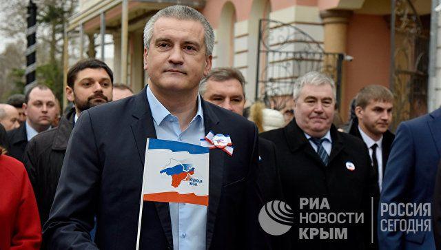 Крымчане не допустили превращения полуострова в горячую точку - Аксенов