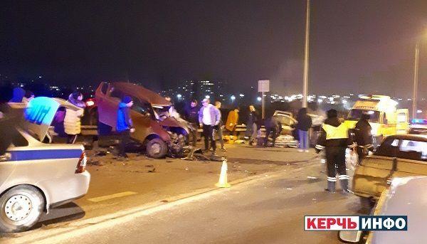 Ужасное ДТП в Крыму: автомобили совершили лобовое столкновение