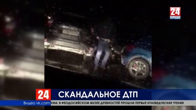 Жертва провокации или виновник ДТП? Севастопольский политик отрицает вину в автопроисшествии