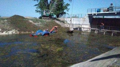 Крым отремонтирует часть канала