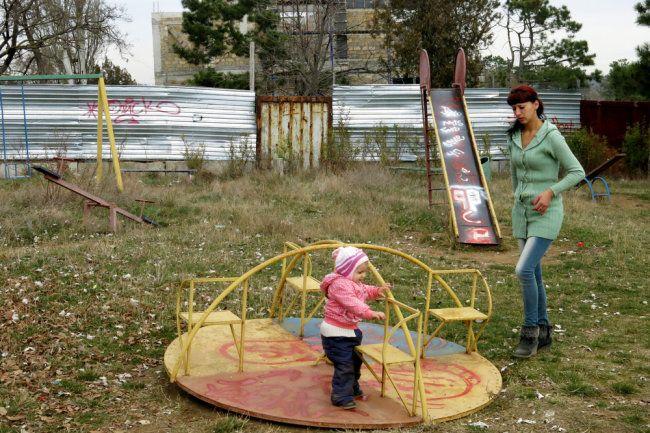 В Симферополе жители Марьино 25 лет добиваются возврата зеленой зоны
