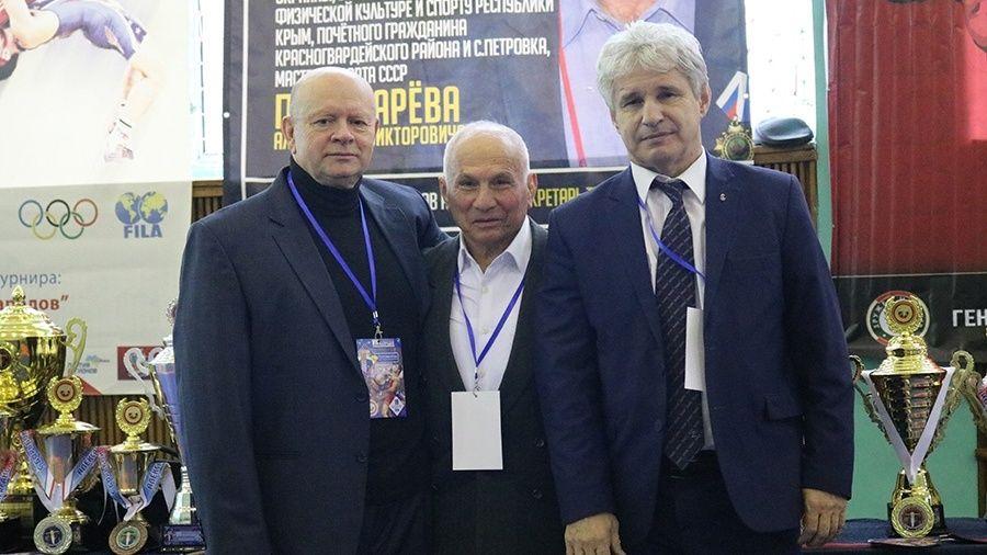 Фоторепортаж с борцовского турнира в Петровке