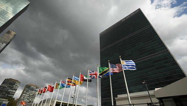 Киев планирует обсудить Крым и Донбасс на площадке Генассамблеи ООН