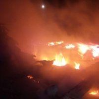 На пожаре в Симферопольском районе спасено 3 человека и эвакуировано 2 ребенка
