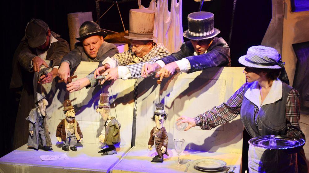 Крымский академический театр кукол представит взрослому зрителю спектакль по мотивам бессмертного произведения «Собака Баскервилей»