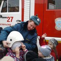 Увлекательная экскурсия в пожарно-спасательную часть