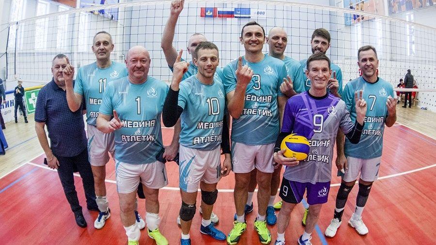"""Волейболисты """"Алушты"""" выиграли международный ветеранский турнир в Костроме"""