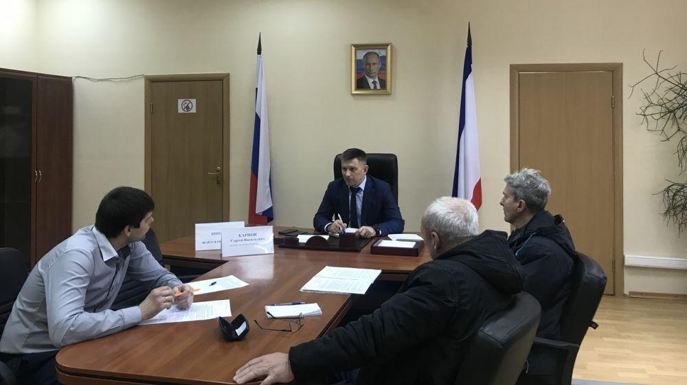 Сергей Карпов провёлличный приём граждан