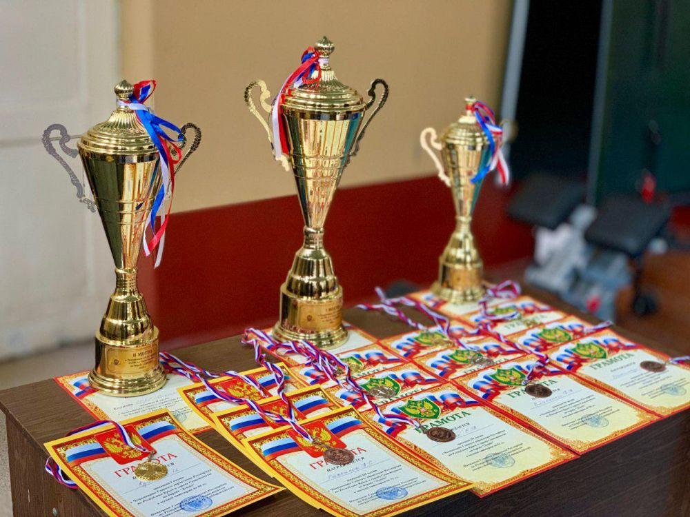 Омон «Беркут» выиграл чемпионат по дзюдо крымского управления Росгвардии