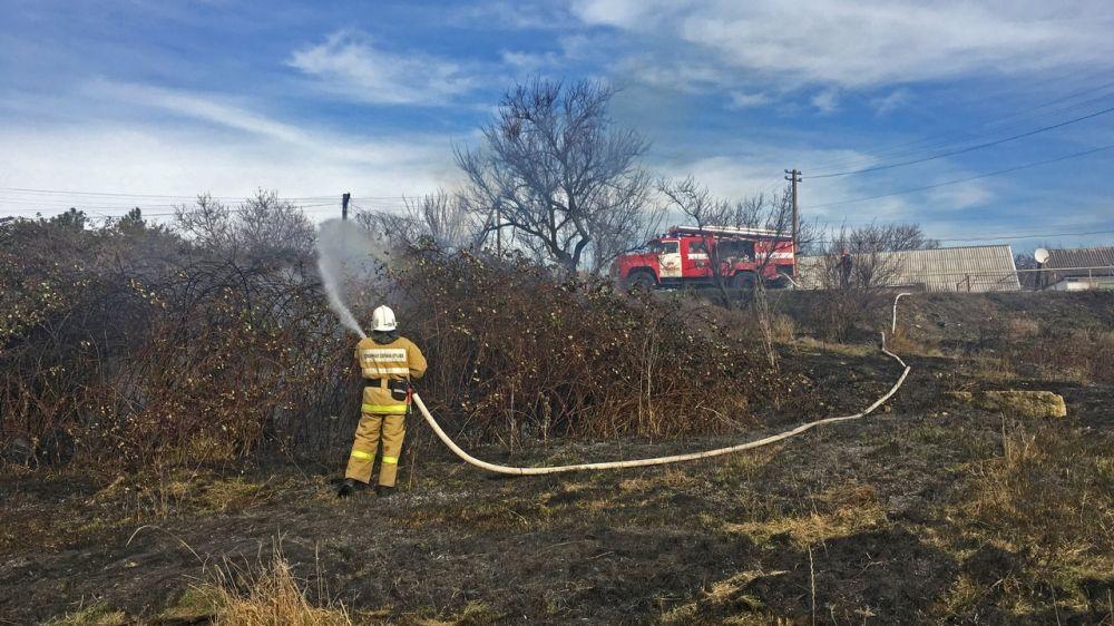 Сергей Шахов: В МЧС Крыма ведется работа по подготовке к пожароопасному периоду 2019 года