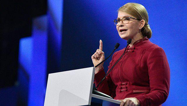 Тимошенко заявила, что вернет Крым