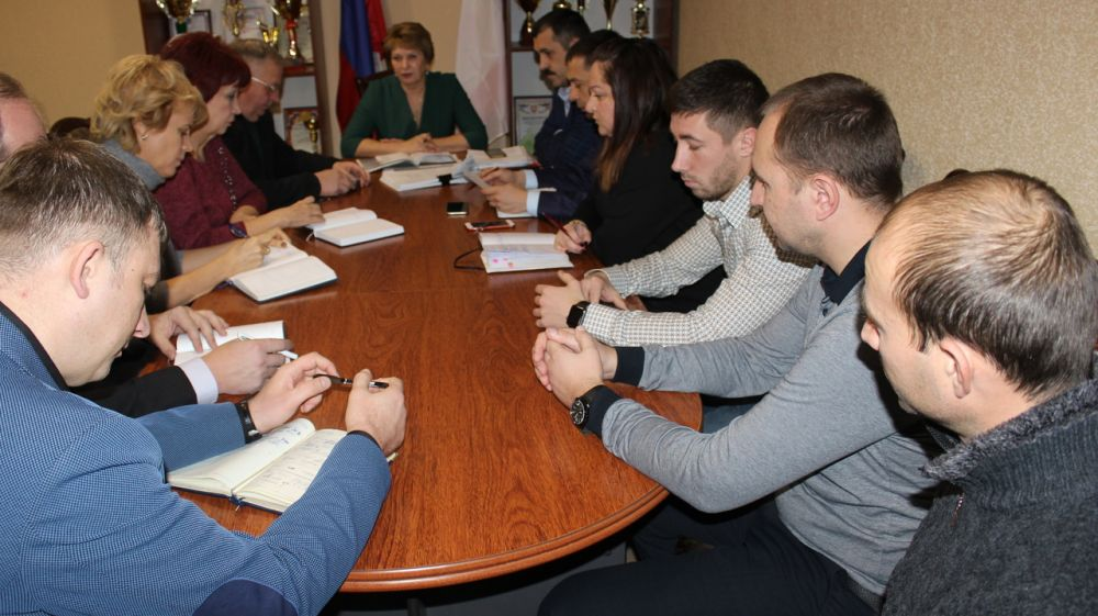 Галина Мирошниченко провела еженедельное совещание с руководителями энергопоставляющих, ресурсоснабжающих предприятий района