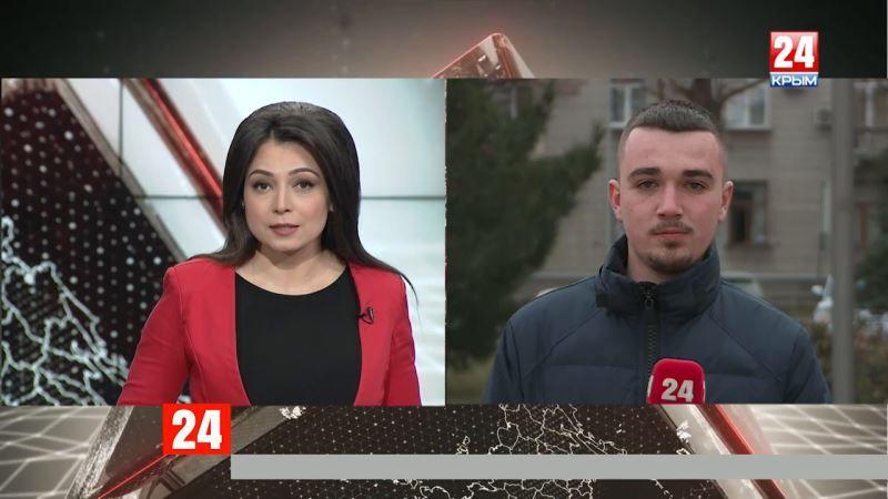 Какую поддержку оказывают предпринимателям? Прямое включение корреспондента телеканала «Крым 24» Александра Федорчака