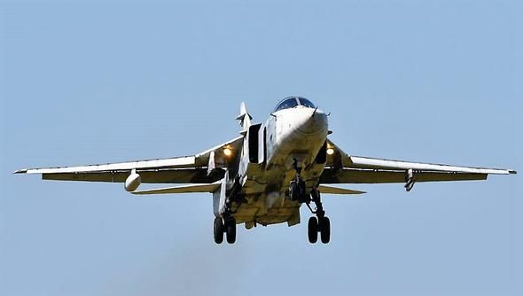 Морская авиация Черноморского флота провела учение по выводу самолетов из-под удара противника