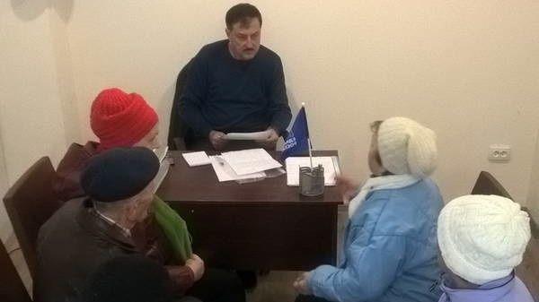 Депутат Ялтинского городского совета провёл в Алупке приём граждан