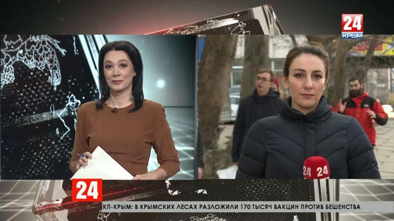 В Крыму начали сеять ранние зерновые культуры. Прямое включение корреспондента «Крым 24» Елены Байрамовой