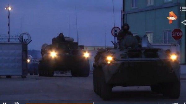 Подразделения Черноморского флота подняли по учебной тревоге
