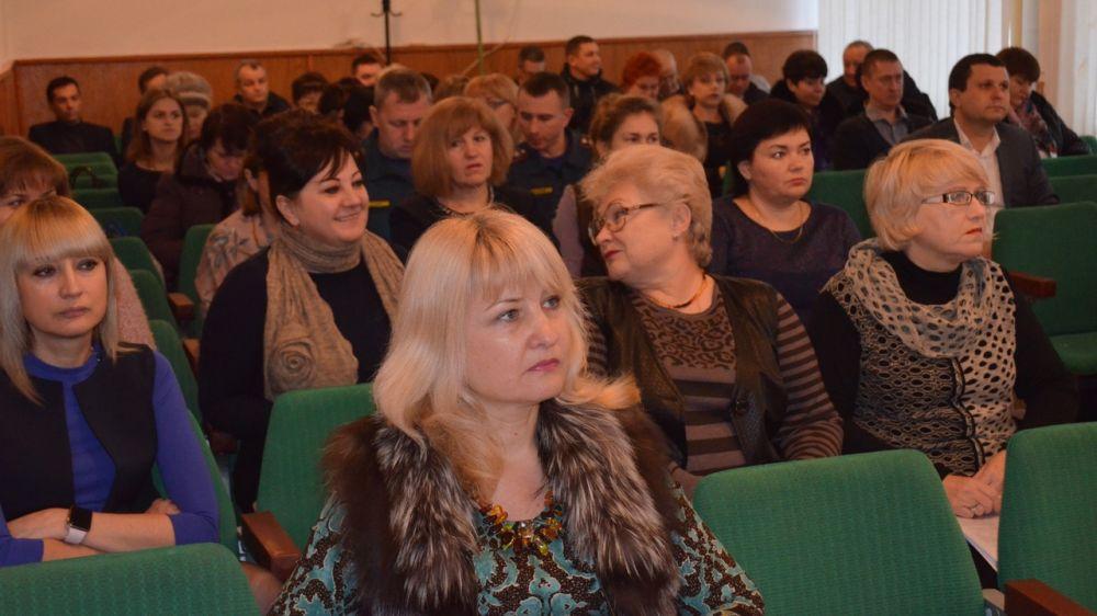 В администрации Армянска прошло аппаратное совещание